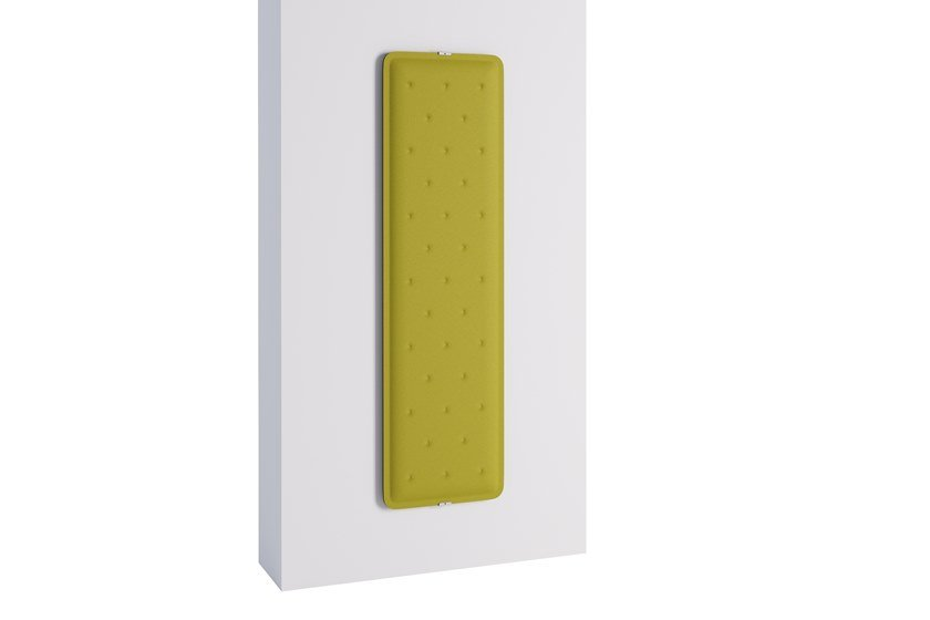 Fireproof Trevira® CS Decorative acoustic panel ZEN WALL by Steelbox by Metalway