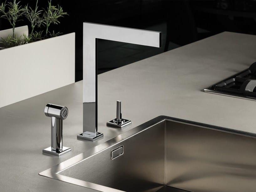 ZENIT | Miscelatore da cucina a 3 fori By RITMONIO design Davide ...