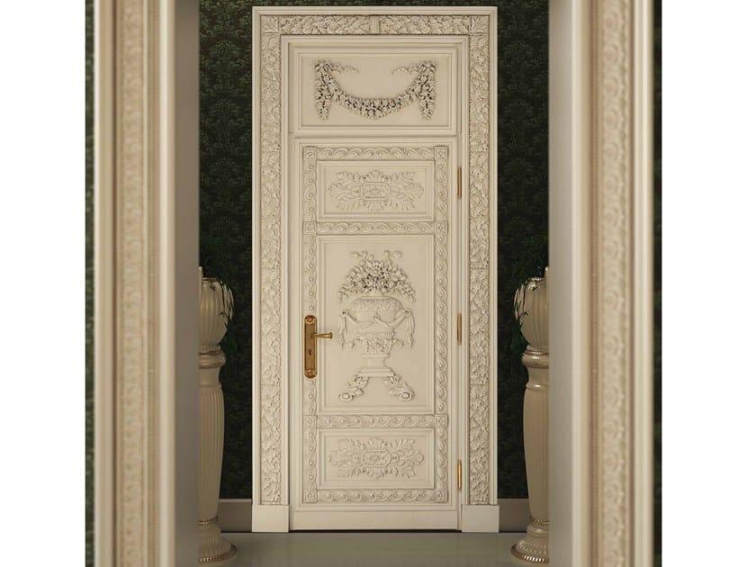 Hinged wooden door ZENIT by Arnaboldi Interiors