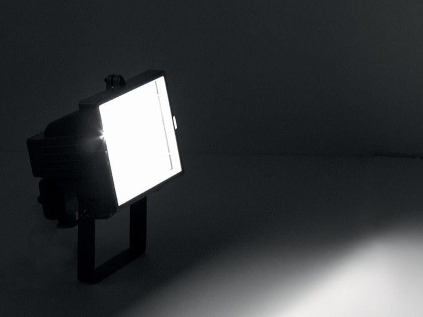 Adjustable die cast aluminium Outdoor floodlight ZENITH by LANZINI