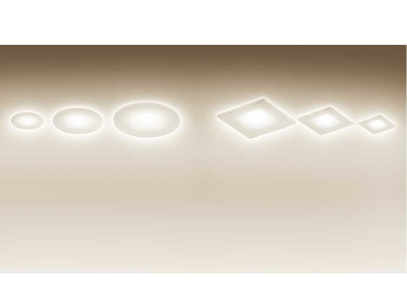 LED ceiling recessed spotlight ZENO UP FROSTED by Artemide