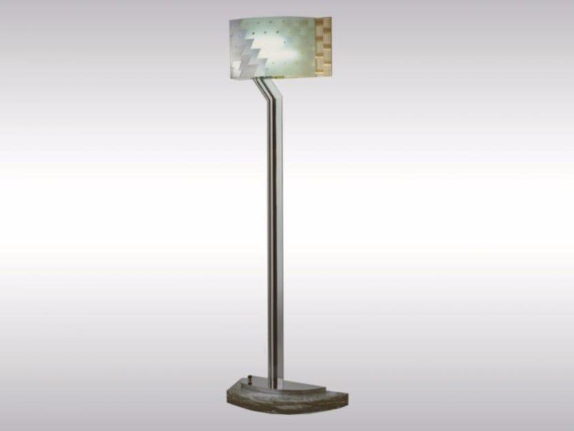 Floor lamp ZENTRALSPARKASSE by Woka Lamps Vienna