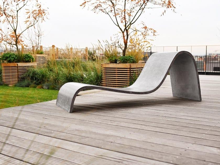 Garden lounger ZEPHYR by Gravelli