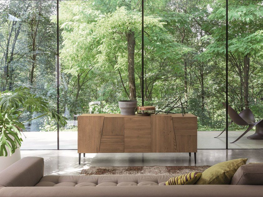 Wooden sideboard with drawers ZERO.16 | Wooden sideboard by Devina Nais