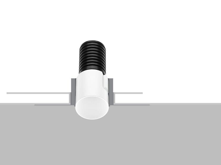 Foco de techo LED encastrable para el techo ZERO R6 by Flexalighting