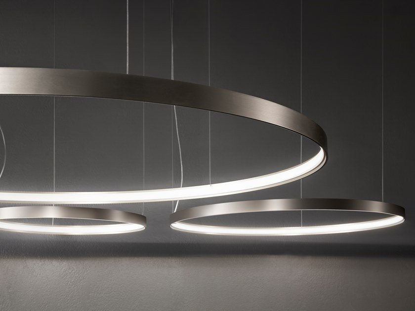 Led Pendant Lamp Zero Round By Panzeri