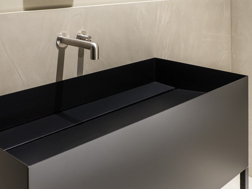 Freestanding metal washbasin ZERO20 | Washbasin by Moab80