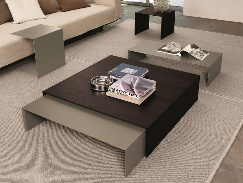 Lacquered aluminium coffee table ZEROCENTO | Coffee table by Désirée divani