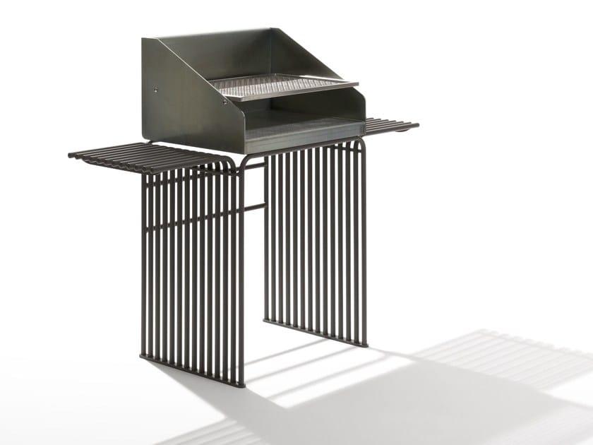 Barbecue in acciaio zincato ZEROQUINDICI.015   Barbecue by Diemmebi