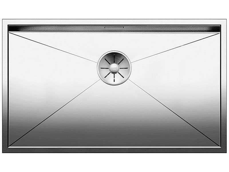 Single built-in stainless steel sink ZEROX 700 IF by Blanco