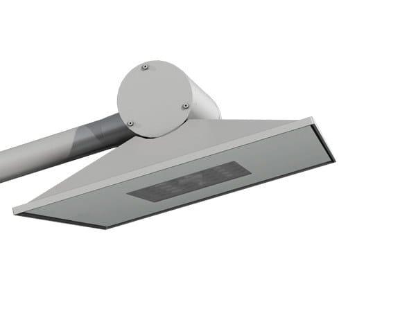 Testa palo a LED in alluminio ZESTO by GHM-ECLATEC