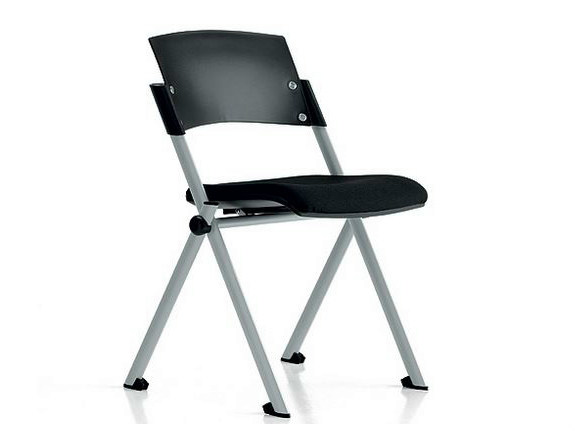 Stackable polypropylene training chair ZETA | Training chair by Diemme