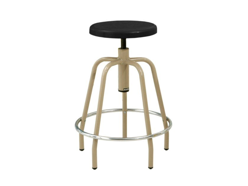 Height-adjustable stool for home-office ZEUS 2.000-5 by delaOliva