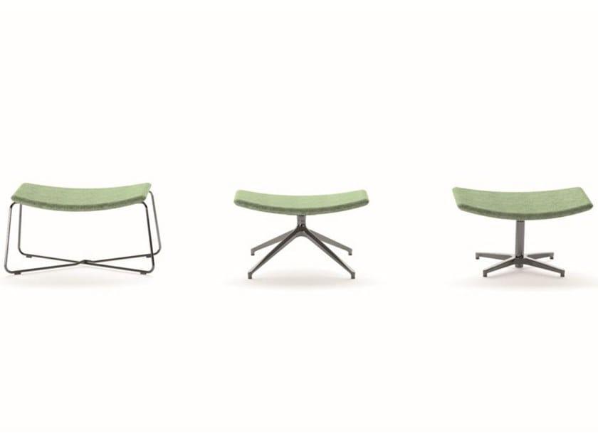 Fabric footstool ZEUS 4 by IBEBI
