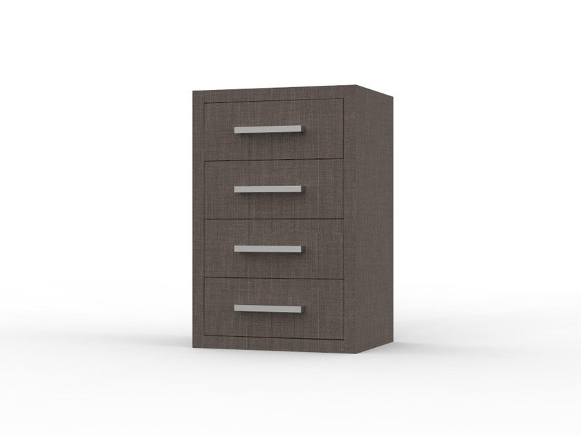 Bedside table with drawers for hotel rooms ZEUS CS17 by Mobilspazio