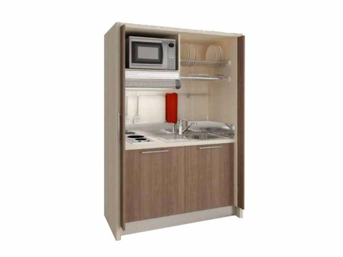 Hideaway Mini Kitchen ZEUS K122 By Mobilspazio