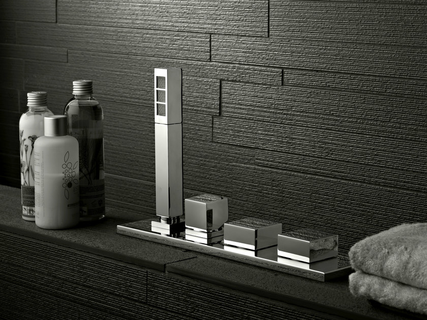 4 hole bathtub set ZEUS Q | Bathtub set by Signorini