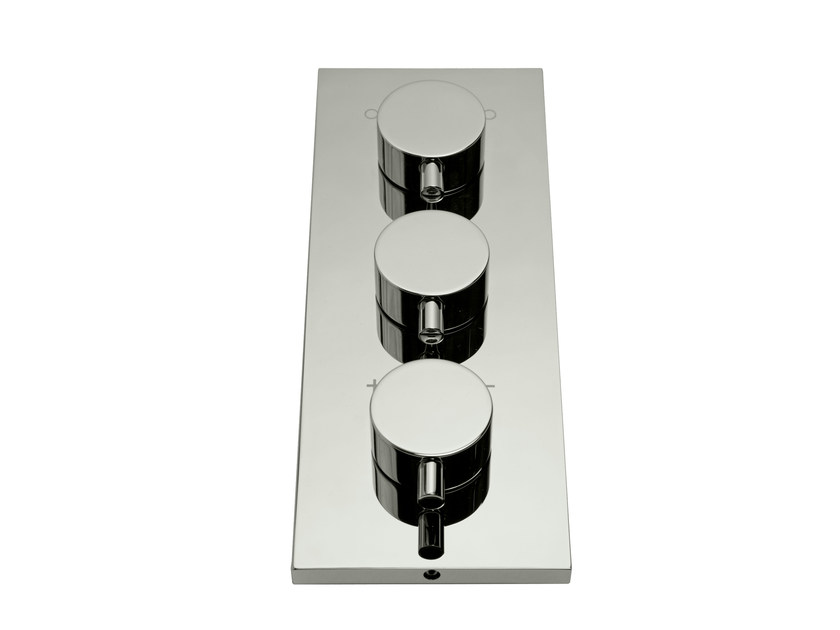 3 hole thermostatic shower mixer ZEUS T   Thermostatic shower mixer by Signorini
