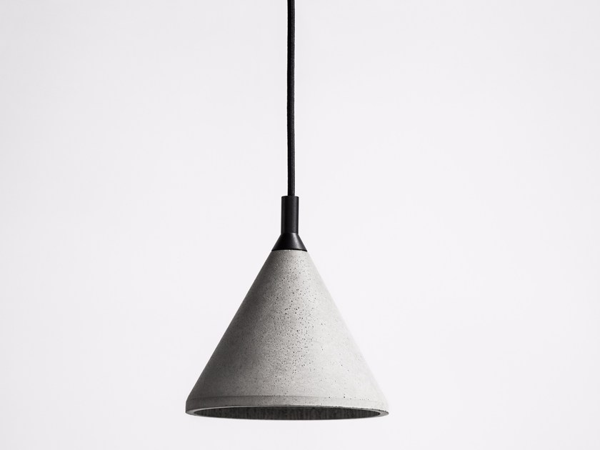 LED concrete pendant lamp ZHONG | Pendant lamp by Bentu Design