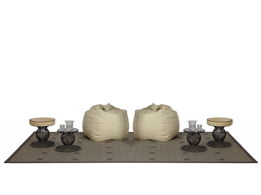 Technical fabric outdoor rugs ZIBAL | Outdoor rugs by Samuele Mazza by DFN