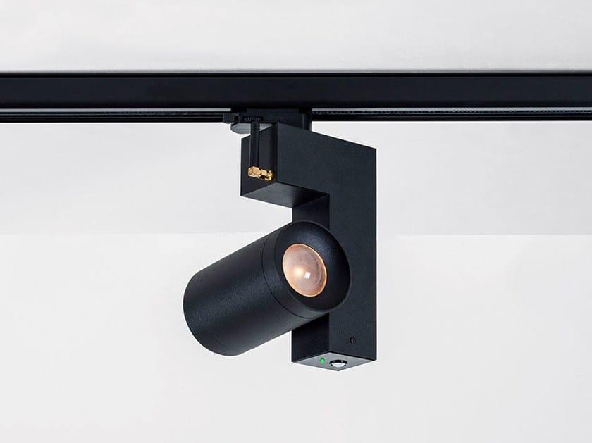 Illuminazione a binario a LED in alluminio verniciato a polvere ZIBOR by HER