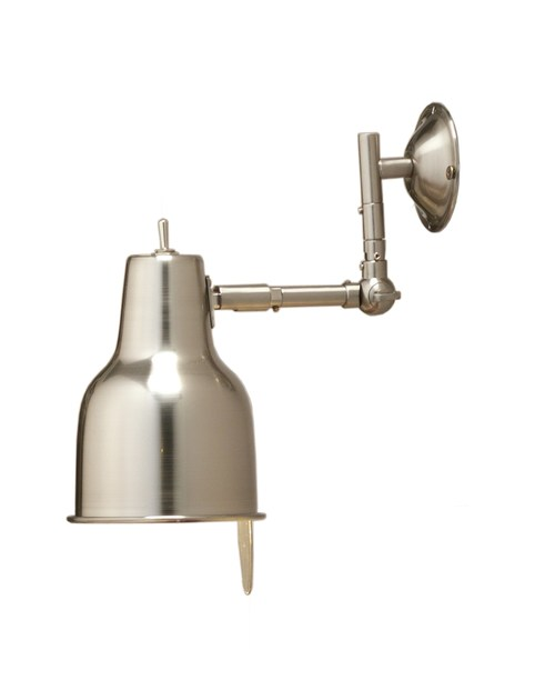 Contemporary style metal wall lamp ZIG by ENVY