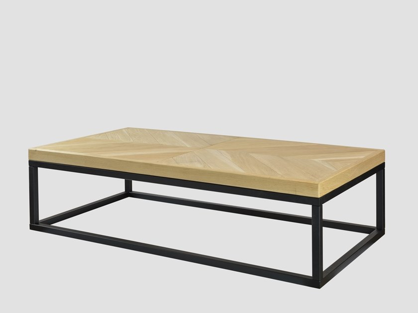 Rectangular coffee table for living room ZIG ZAG A by Gie El Home