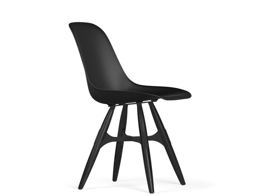 Polypropylene chair ZIGZAG V9 | Polypropylene chair by KUBIKOFF