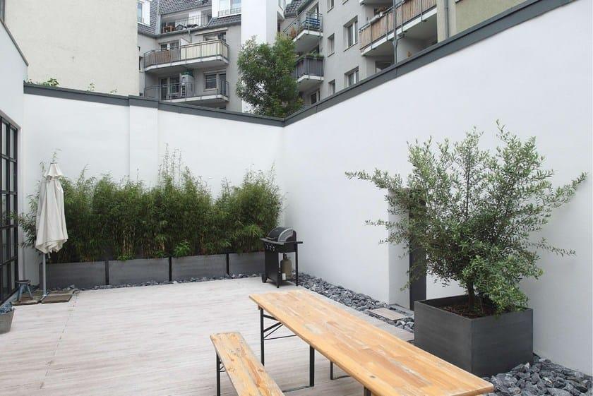 ZINC ASPECT PLANT CONTAINER SET - TURNKE | Jardinière sur mesure By ...