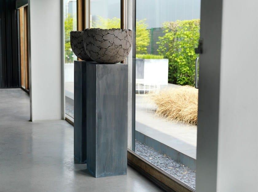 Pedestal ZINC COLUMN by Domani