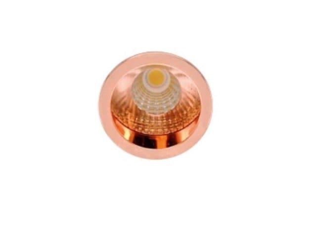 LED round recessed aluminium spotlight ZIP by LED BCN