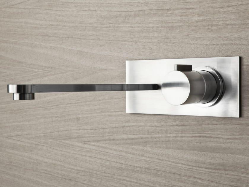 2 hole wall-mounted washbasin tap ZIRMA   Wall-mounted washbasin tap by Signorini