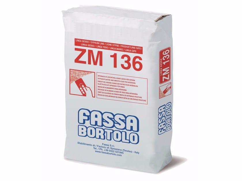 Gypsum plaster ZM 136 by FASSA