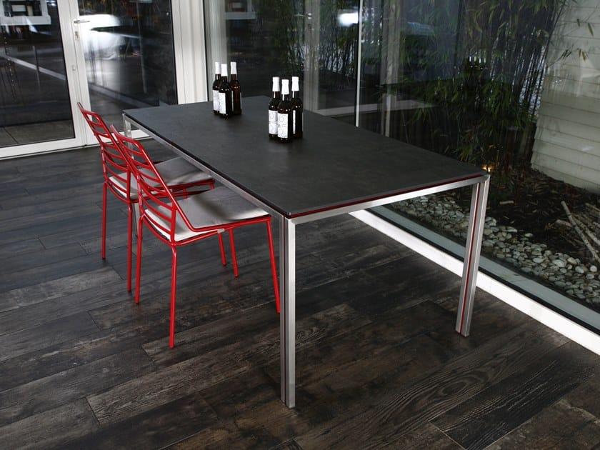 Rectangular HPL table ZOE   HPL table by iCarraro