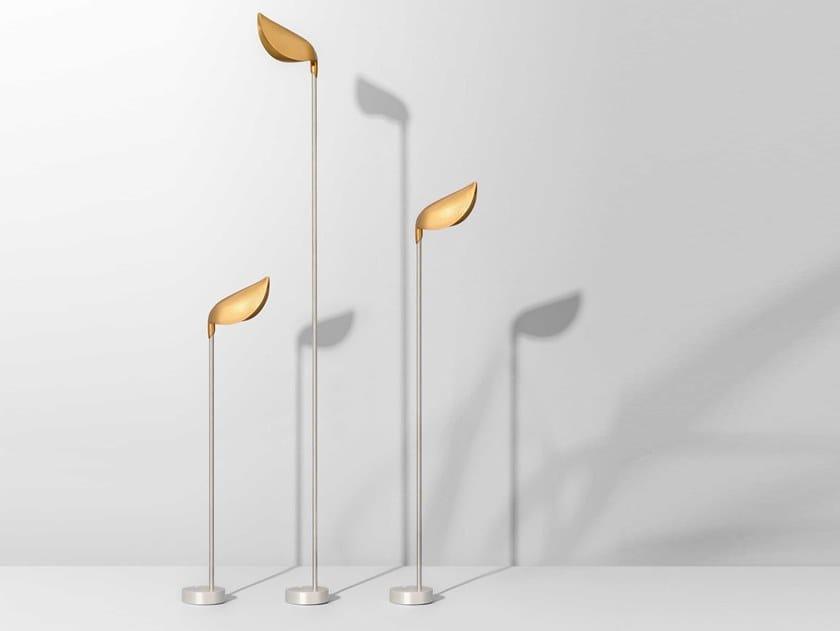 LED steel Floor lamp ZOE by Olev
