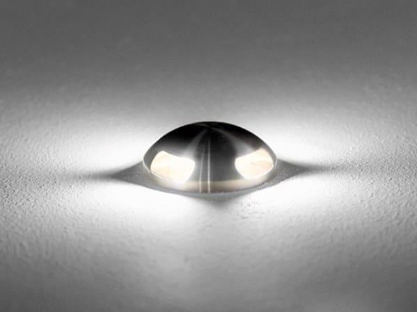 Segnapasso a LED in acciaio inox ZONA X by BEL-LIGHTING