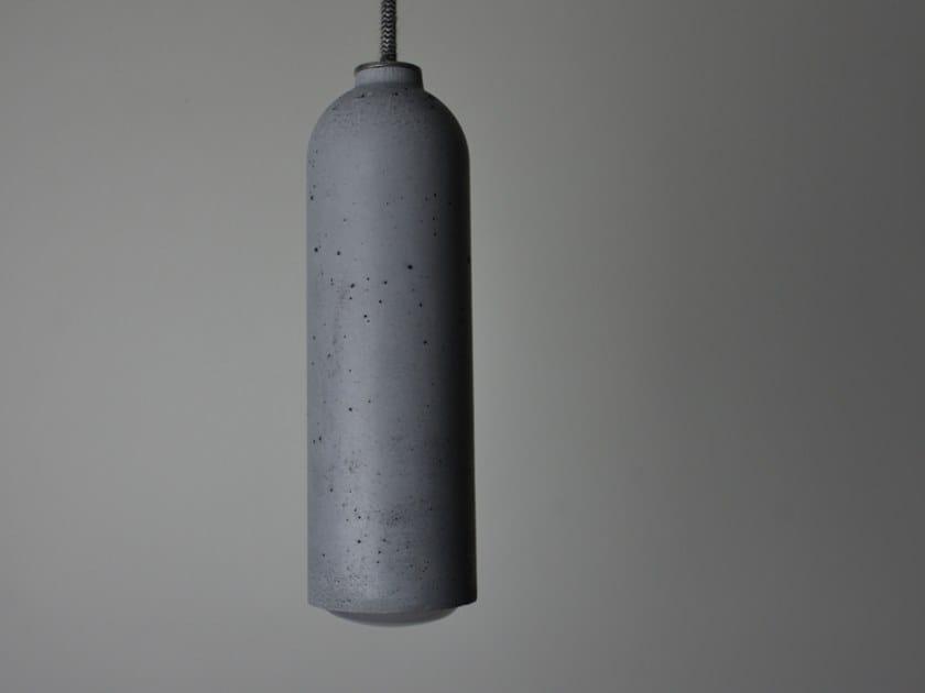 Lampada a sospensione in calcestruzzo ZOOM by betton