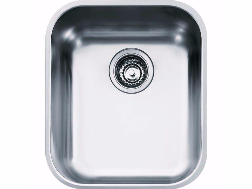 Lavello a una vasca sottotop in acciaio inox ZOX 110-36 by FRANKE