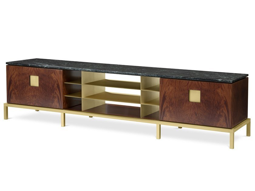 Buffet de folheado de madeira ZUAN   Buffet by GHIDINI1961