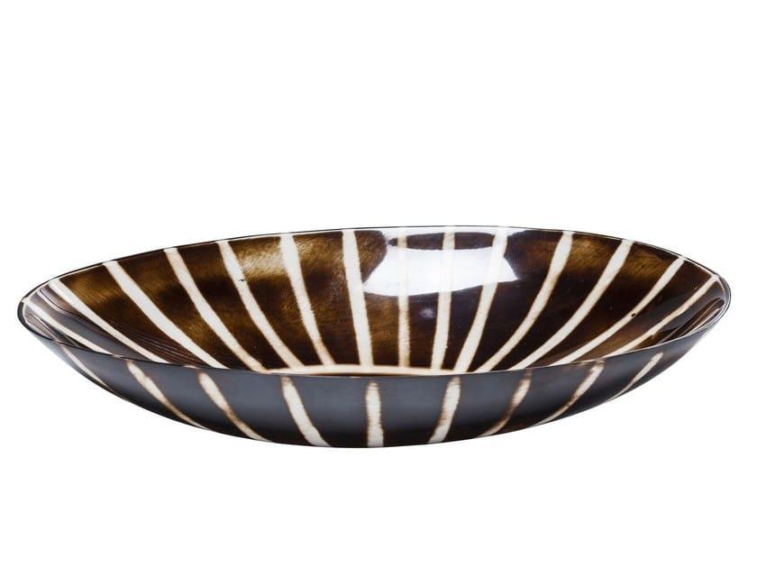 Resin serving bowl ZULU OVAL by KARE-DESIGN