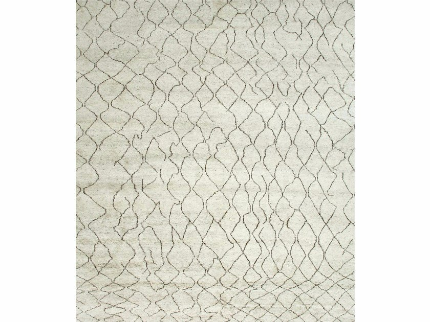 Tappeto fatto a mano ZUMA PKWL-02 Natural White by Jaipur Rugs