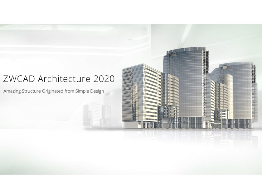 2D & 3D CAD technical design ZWCAD Architecture by ZWSOFT