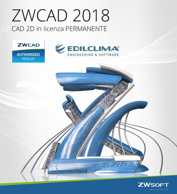 2D & 3D CAD technical design ZWCAD 2018 by EDILCLIMA