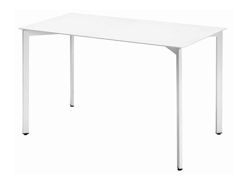 Rectangular steel table Zenith 472-R by Metalmobil