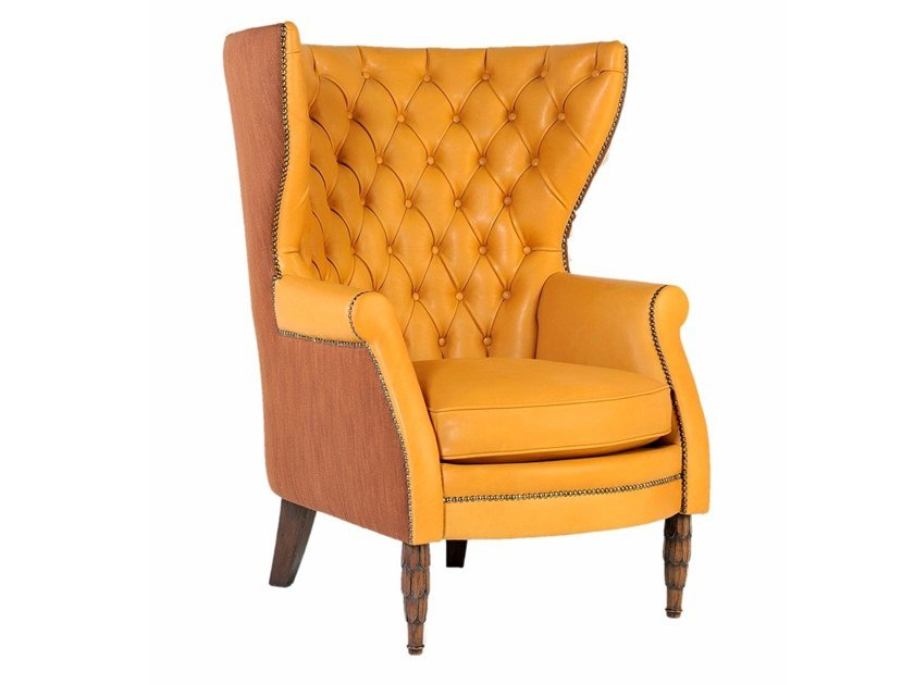 A 0572 | Leather armchair