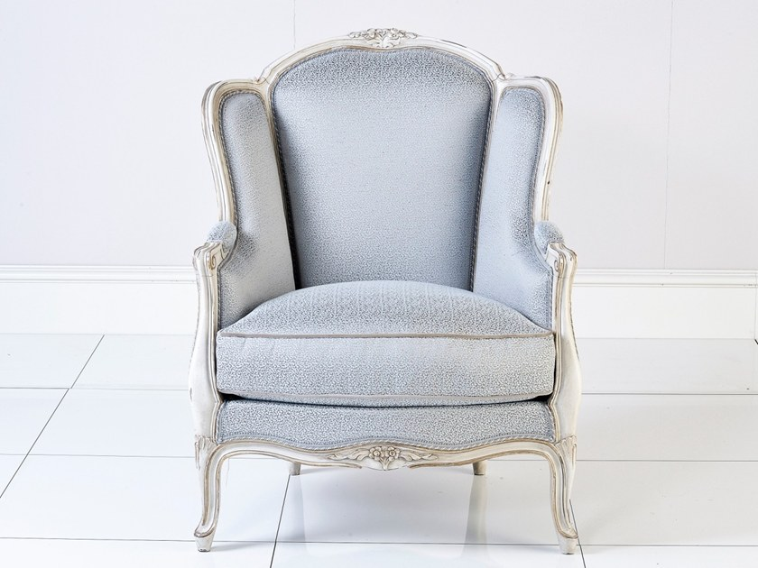 Louis XV upholstered fabric armchair A 1529 | Armchair by Annibale Colombo