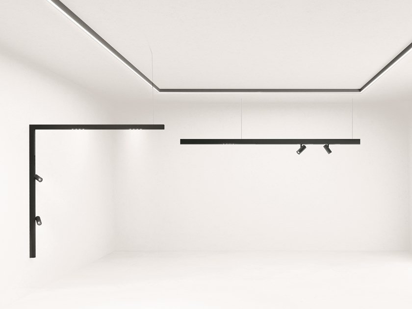 Linear lighting profile for LED modules A.24 | Track-Light by Artemide