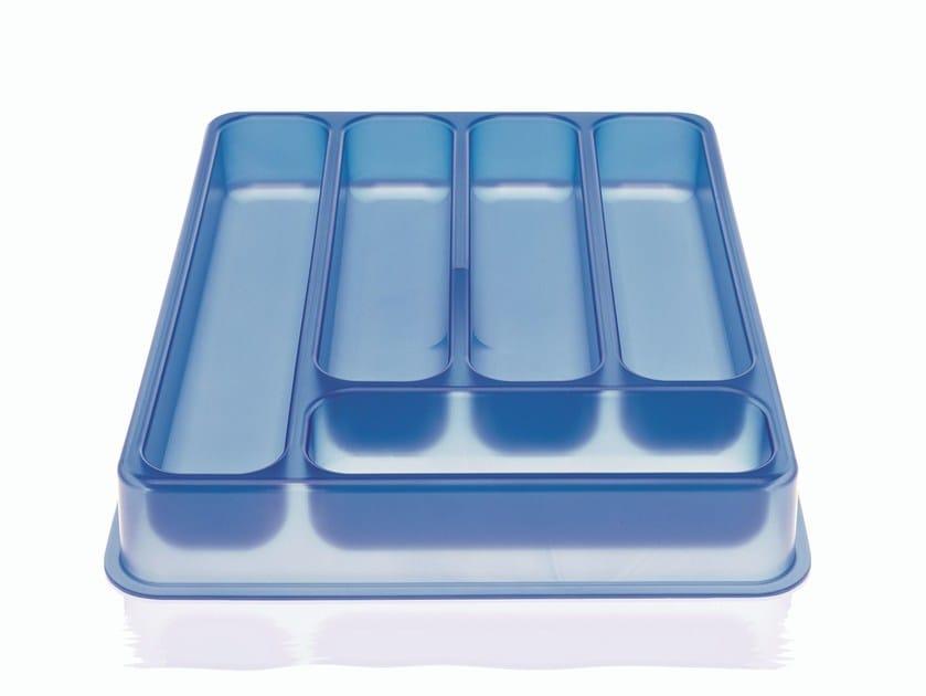 Polypropylene storage box A, B, C... by Magis
