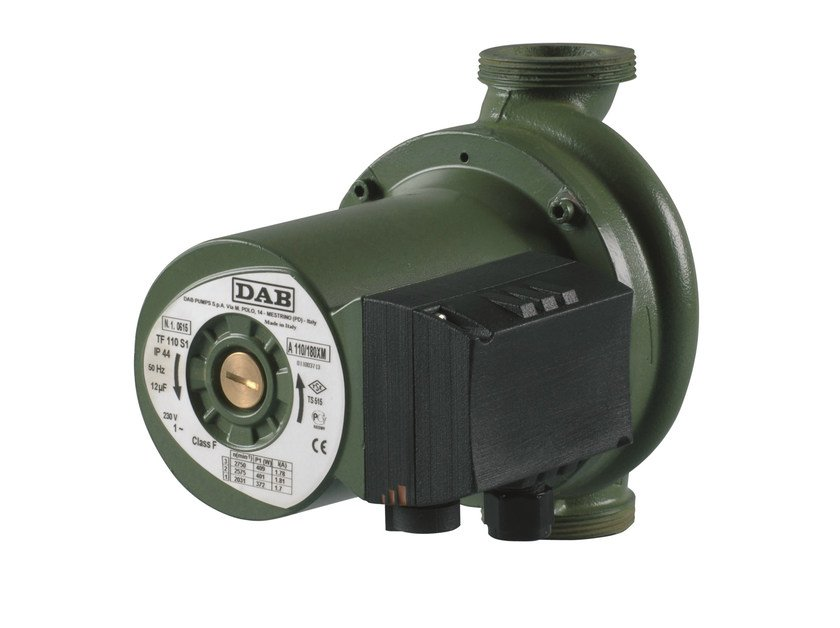 Wet rotor electronic circulators A-B-D by Dab Pumps