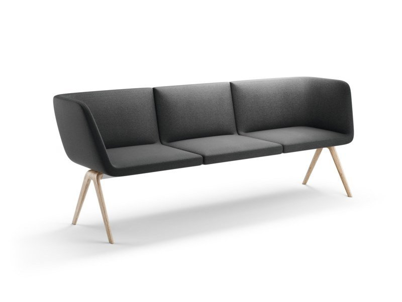 Fabric leisure sofa A-BENCH   Sofa by Brunner